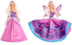 Muñeca barbie princesa mariposa catania importada original