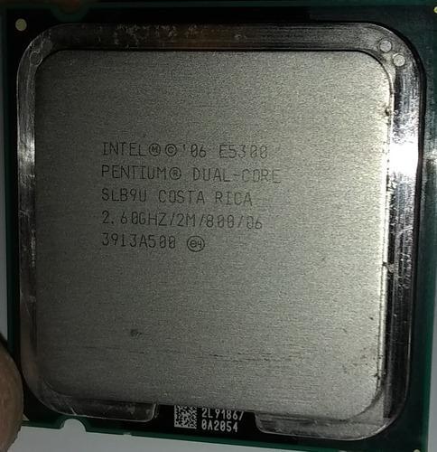 Procesador dual core e5300, usado (5$)
