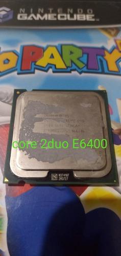 Procesador intel core 2duo e6400