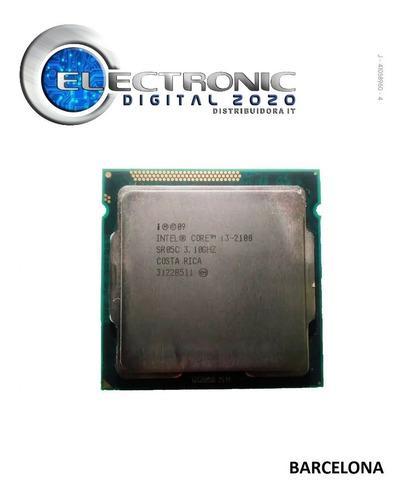 Procesador intel core i3 2100 3,10 ghz 1155 usado