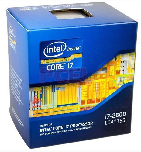 Procesador intel i7 2600+fan cooler v8
