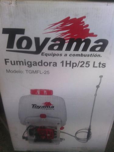 Fumigadora aspejadora de motor toyama1hp/25 lts