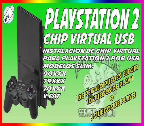 Chip virtual para play 2 por usb