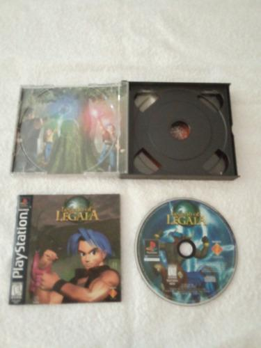 Juego ps1: legend of legaia. completo