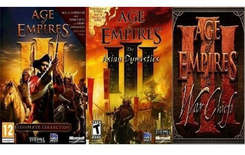 Juegos de pc age of empires 3 saga completa