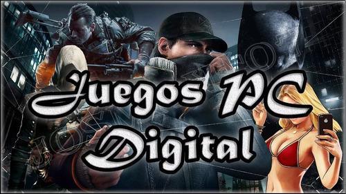 Juegos para pc en formato digital y físico