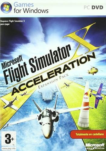 Microsoft flight simulator x + pack acceleration pc español