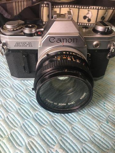 Camara Reflex 135 Mm Canon Ae-1 Lente 50mm
