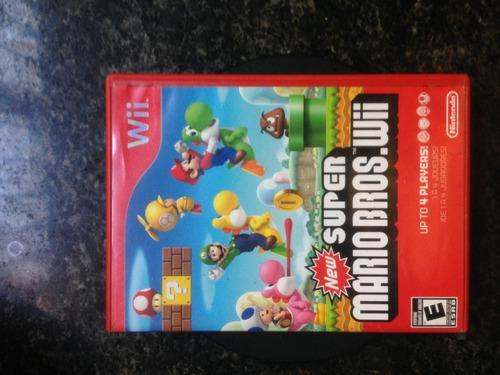 Juego Super Mario Bros. Wii