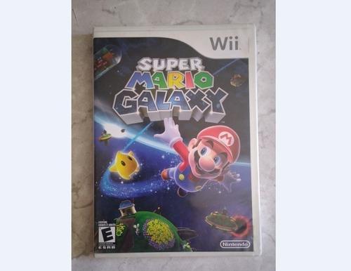 Juego Super Mario Galax Para Nintendo Wii