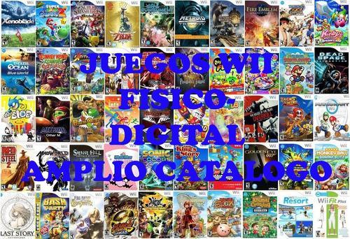 Juegos Para Nintendo Wii Fisico/digital