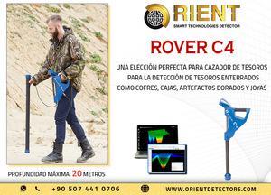 Potente escáner de tierra 3d rover c4
