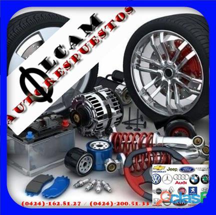Respuestos y accesorios de carros de todas las marcas