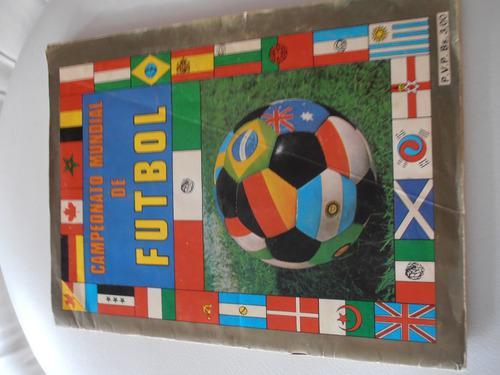 Albúm mundial de futbol mexico 1986 (reyauca) lleno