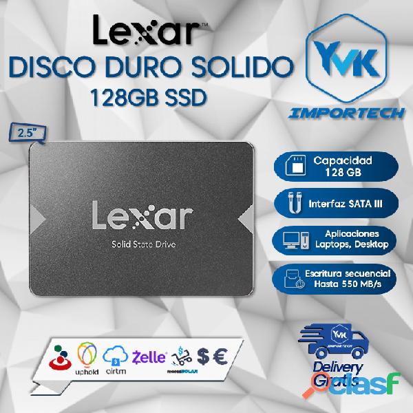 Disco Duro Solido 128GB SSD LEXAR