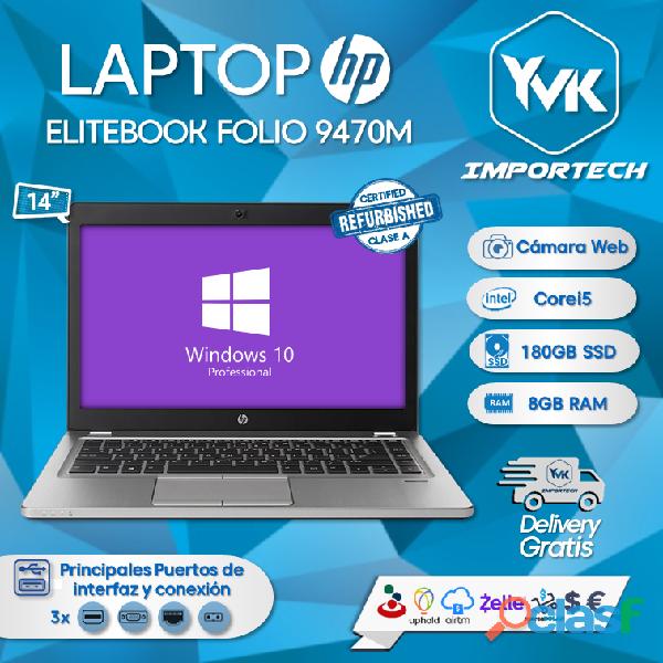 Laptop hp elitebook folio 9470m.