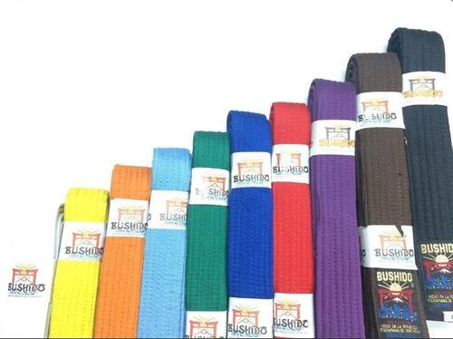 Cinturon macho karate todos los colores y tallas