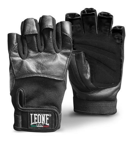 Guantes gym y fitness gym gloves ab713 marca leone® 1947