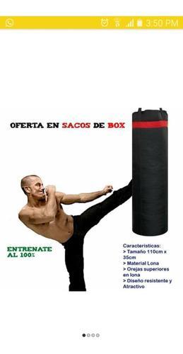 Saco de boxeo pateo lona grande artes marciales