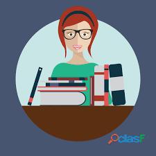 Elaboración de tesis de grado, post grado, maestrias, trias, proyectos, informes de pasantias.