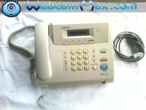 Fax teléfono samsung zf 100