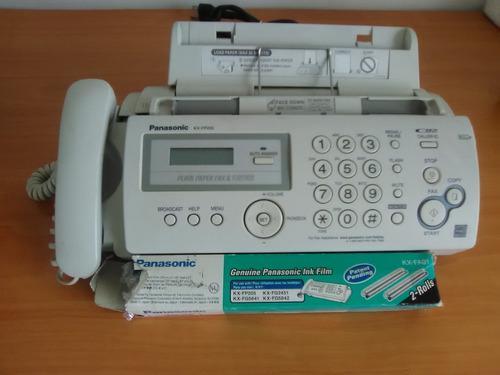 Telefono Fax Panasonic Kx-fp205
