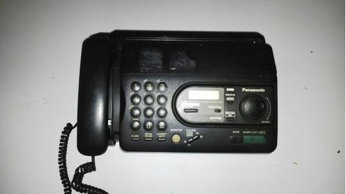 Telefono Fax Panasonic Modelo Kx-ft33
