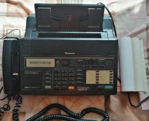 Teléfono Fax Panasonic Kx-f90 Negro