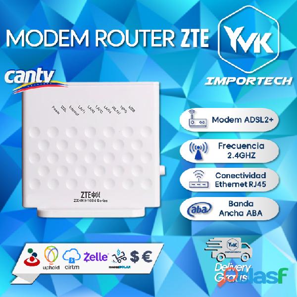 Modem router wifi zte