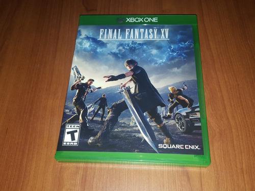 Final fantasy xv juego xbox one