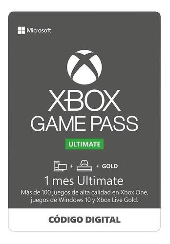 Juego de paso ultimate + xbox live gold key-código de 1 mes