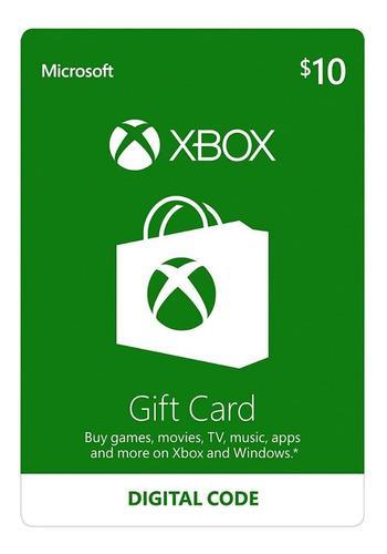 Tarjeta de regalo | xbox live | codigo digital