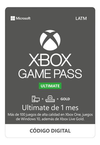 Xbox Live Gold + Game Pass Ultimate