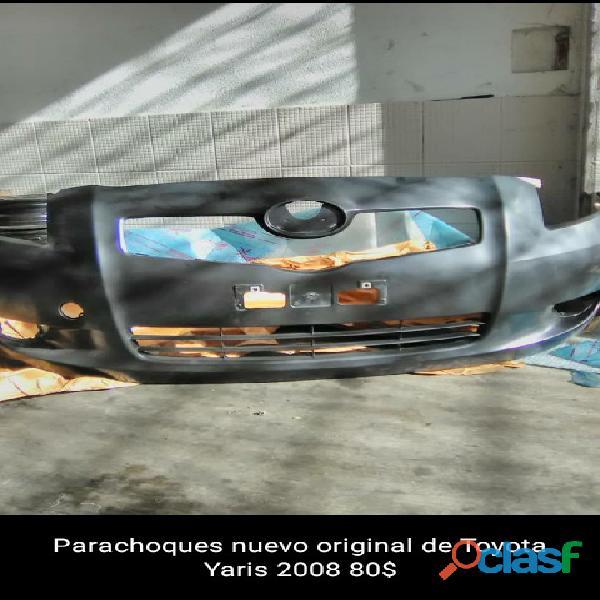 Parachoques original delantero para Toyota Yaris 2008
