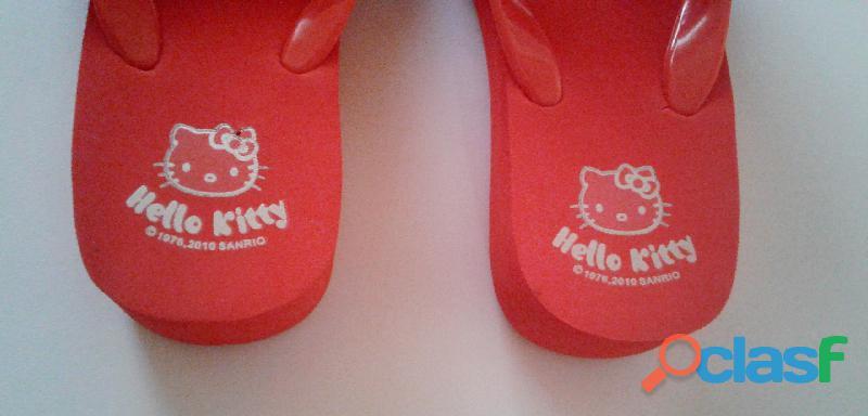 Cholas Sandalias Hello Kitty Producto Original talla 35 2