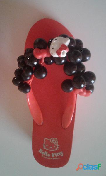 Cholas Sandalias Hello Kitty Producto Original talla 35 3