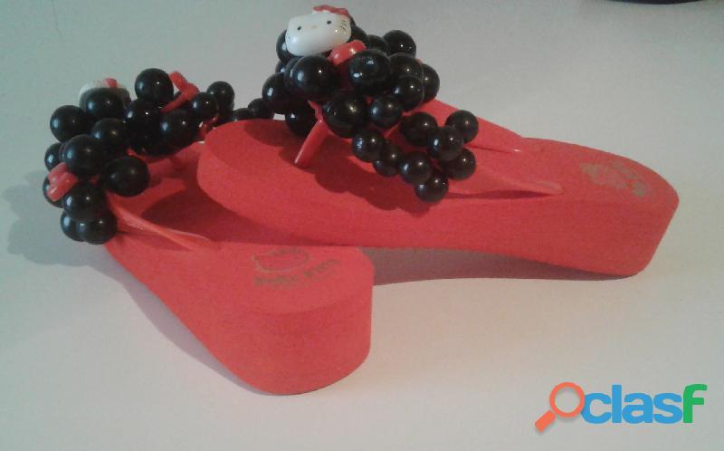 Cholas Sandalias Hello Kitty Producto Original talla 35 4