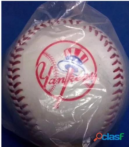 Pelotas béisbol mlb yankees mets rawlings originales, compradas en usa