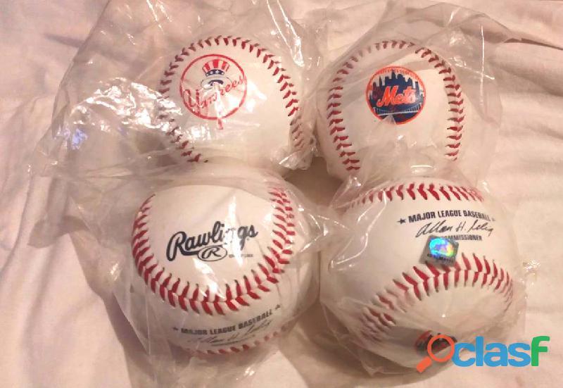 Pelotas Béisbol Mlb Yankees Mets Rawlings Originales, compradas en USA 2