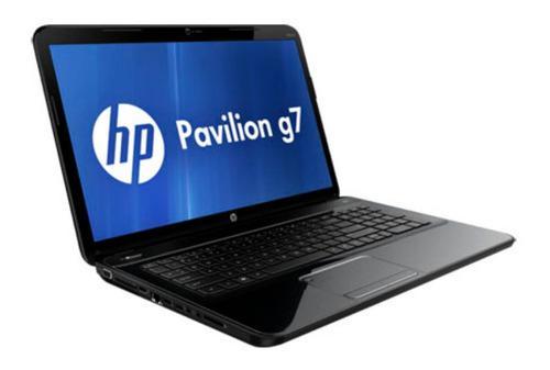 Laptop hp pavilion g7 amd dual core 1.65ghz 4gb 500gb 17.3