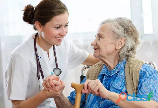 Enfermera a domicilio privada