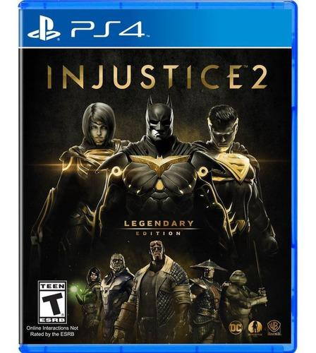 Injustice legendario ps4 ¡ totalmente nuevo y sellado!