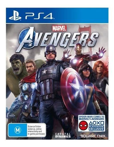 Juego marvel avengers ps4 nuevo sellado en su empaque
