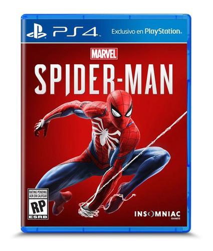 Juego spiderman ps4 ¡ totalmente nuevo y sellado !