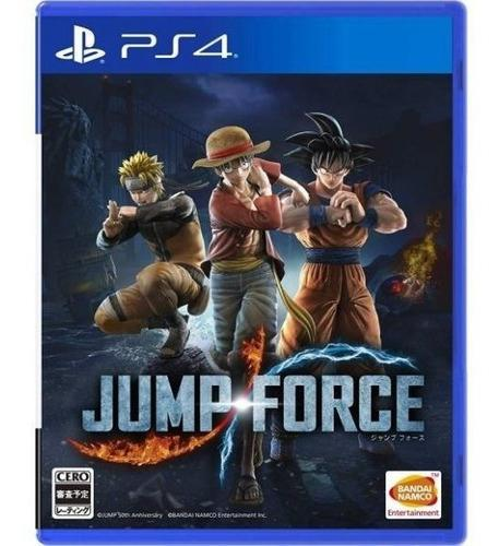 Jump force ps4 ¡ totalmente nuevo y sellado!