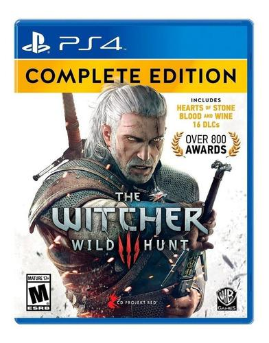 The witcher 3 complete editions ps4 ! totalmente nuevo¡