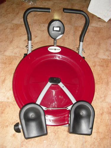 Máquina abdominales circular ab cicler pro 360 (40verdes)