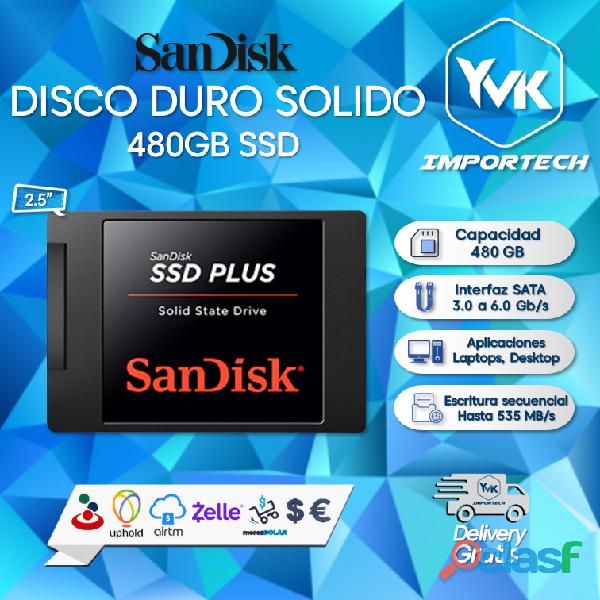 Disco duro solido 480gb ssd.