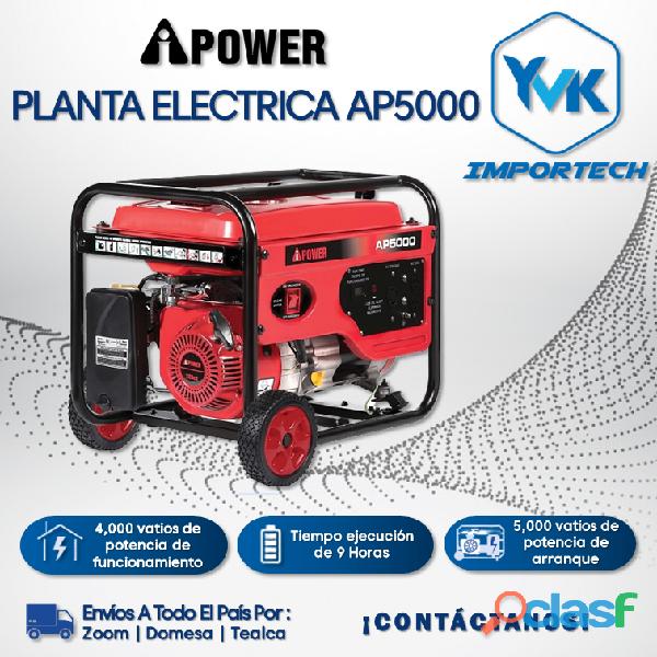 Planta eléctrica ap5000 ipower.