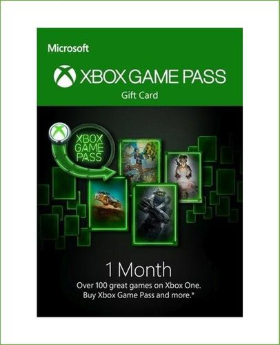 Xbox Game Pass 1 Mes Trial Código Global